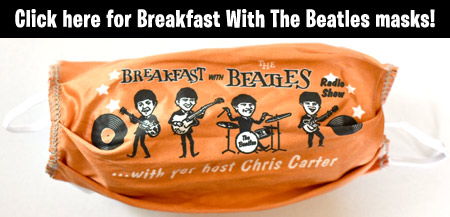 breakfast with the beatles masks